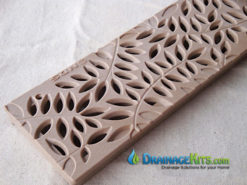 4″ Decorative Spee-D Channel Polyolefin Grates by NDS® – Box of 12