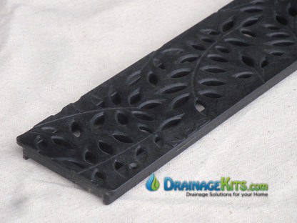 NDS mini channel black botanical grate