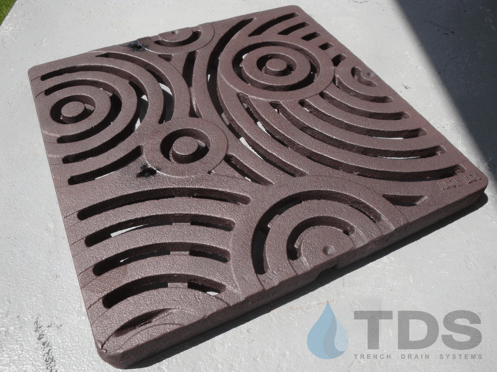 Decorative 12 X 12 Cast Iron Grate Drainagekits Com
