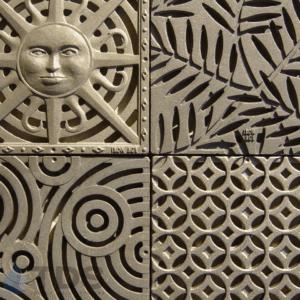 Cast-Iron-Decorative-Deco-Ironage-Catch-Basin-grates-sun-locust-interlaken-oblio