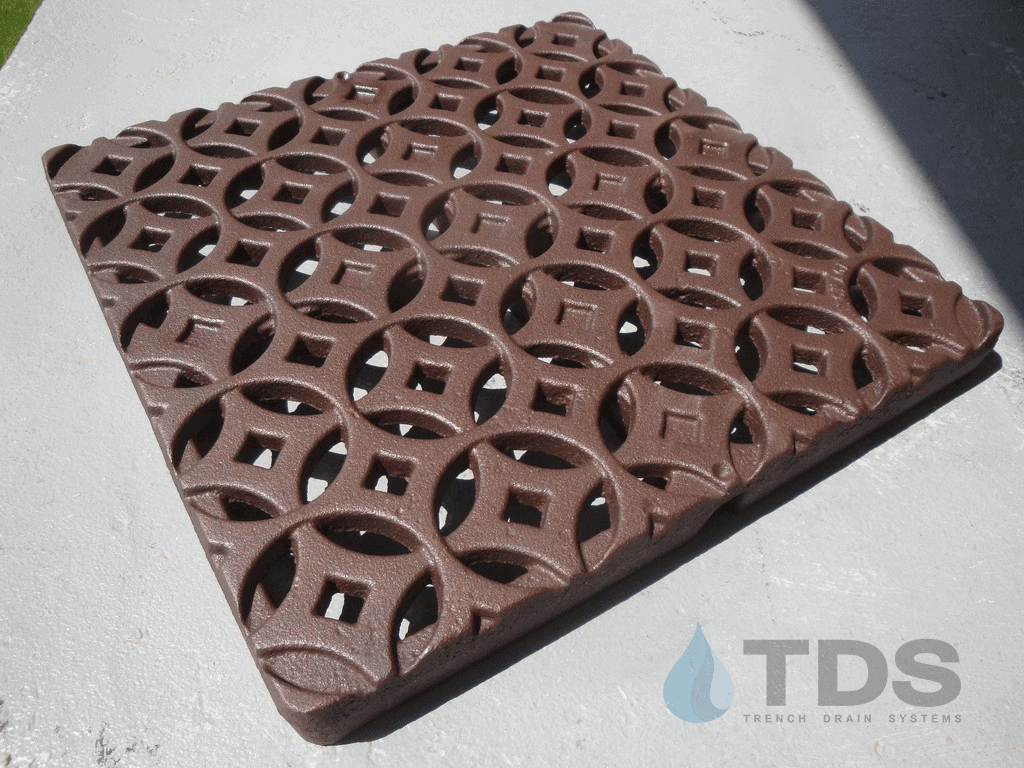 Iron Age Interlaken BoOF Cast Iron Catch Basin Grate