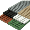 Mini channel slotted grate group