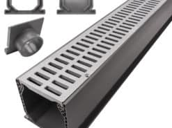 3″ NDS® Drainage Kit w/Slotted Plastic Grate