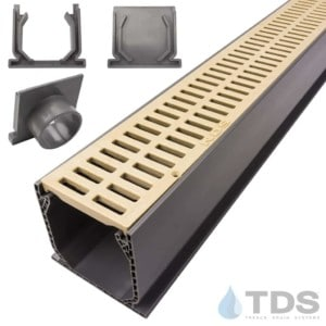 NDS Mini Channel with Sand Slotted Grates