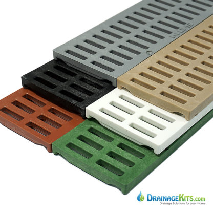 NDS mini channel slotted grates box of 16 - 540-541-542-543-544-551