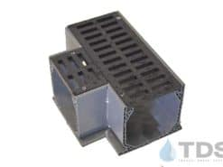 Tee for NDS® Mini Channel – Slotted Grate