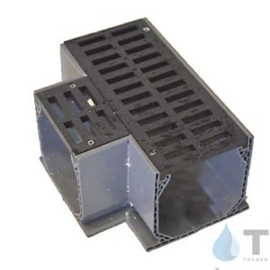 NDS5372 tee mini channel black grate