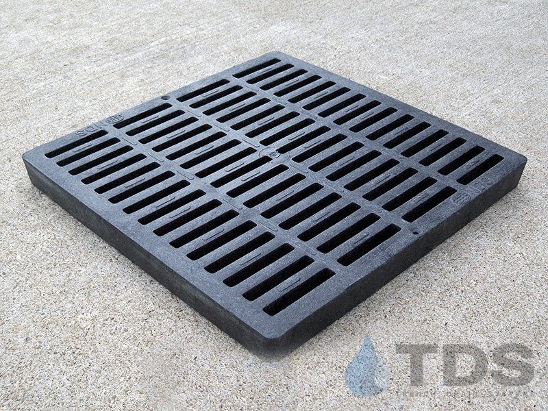 NDS1211_Black_Plastic_Slotted_Catch_Basin_Grate_NDS-12x12