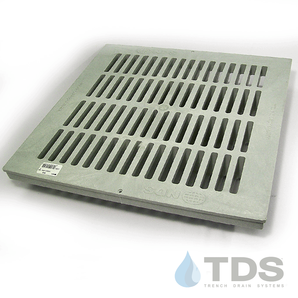 NDS1810_Grey_Slotted_Plastic_Catch_Basin_grate_NDS_18x18