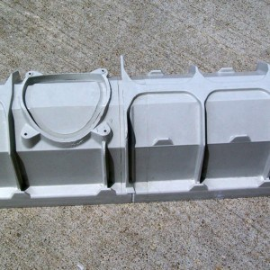 Two Mearin 100 channels joined without installation bracket in place