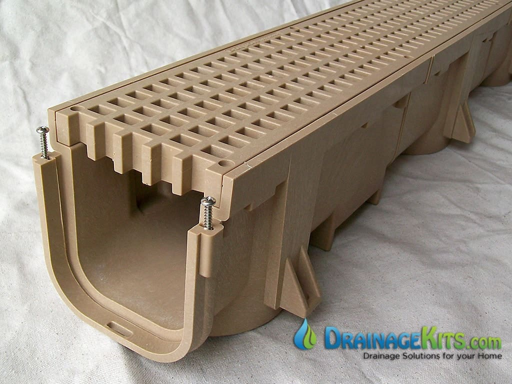 Introducing our new driveway drainage kit for Driveway trench drain