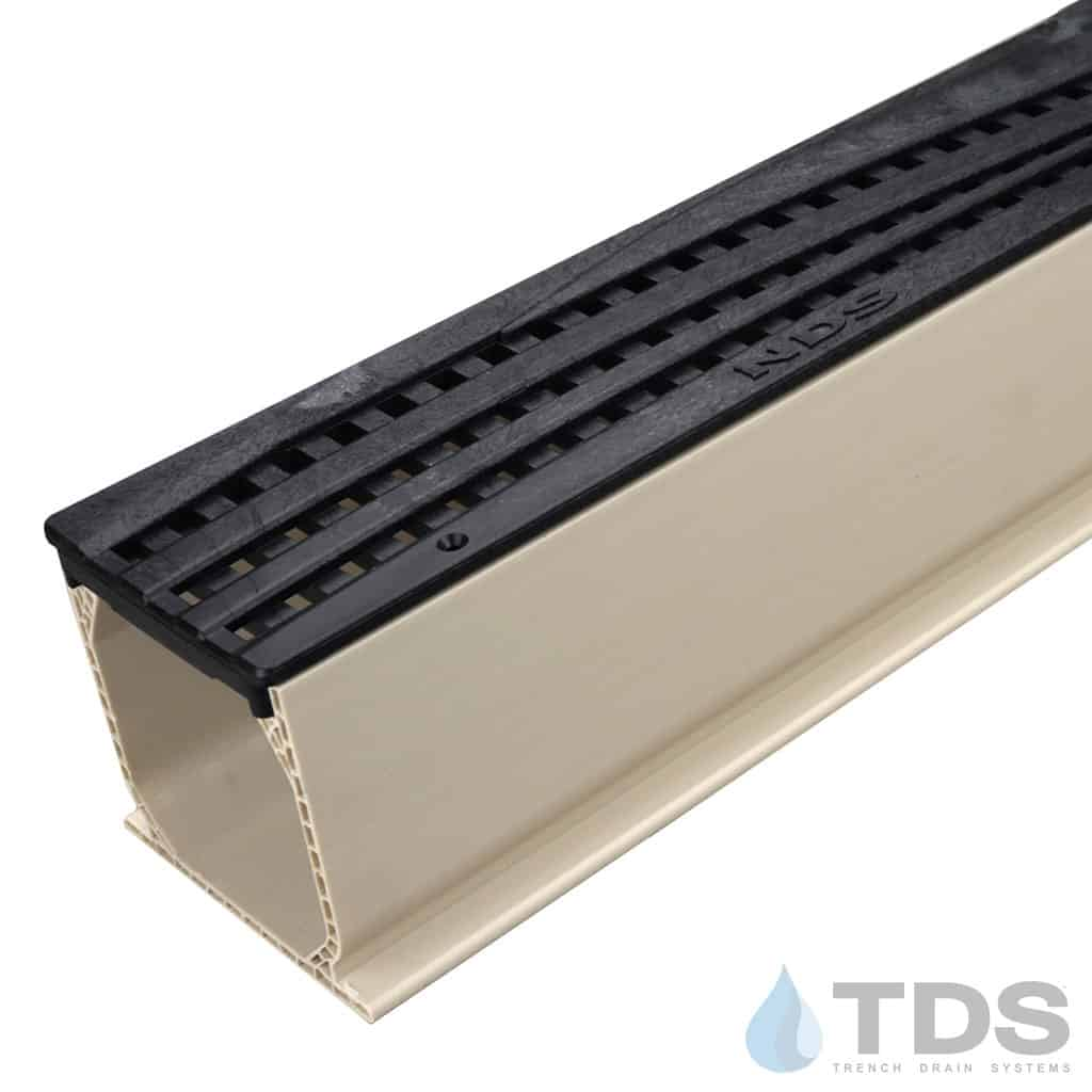 Black Wave Poly Grate with Sand Mini Channel MCKS-555