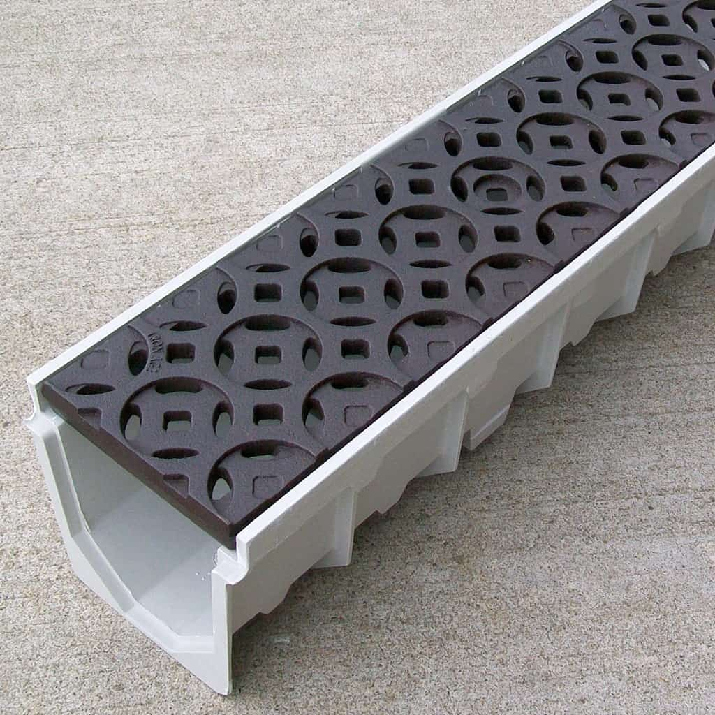 Patio Drains With Grates Bing Images