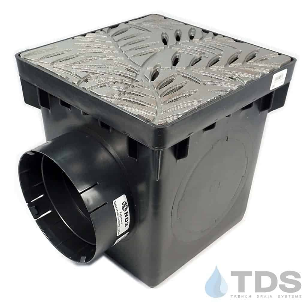 12x12-catch-basin-kit-6in-outlet-CI-locust-grate