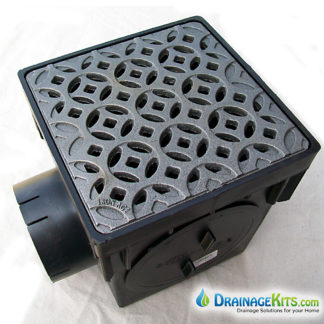 NDS900 Catch basin kit w/cast iron grate - Interlaken