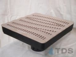 Low Profile Catch Basin Kit w/Deco Polyolefin Grate 12″x12″ – Wave