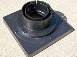 Low Profile Catch Basin Kit w/Cast Iron Grate 9″x9″ – Interlaken