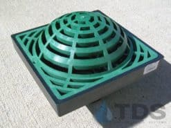 Low Profile Catch Basin Kit w/Atrium Grate 9″x9″