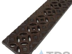 Decorative 4″ Cast Iron Grate for Spee-D Channel – Interlaken