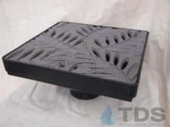Low Profile Catch Basin Kit w/Cast Iron Grate 12″x12″ – Locust