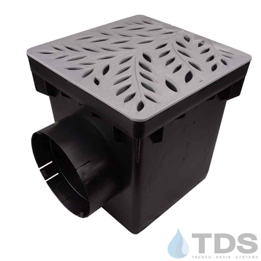 NDS-2outlet-catch-basin-6in-outlets-grey-botanical-grate-TDSdrains (1)