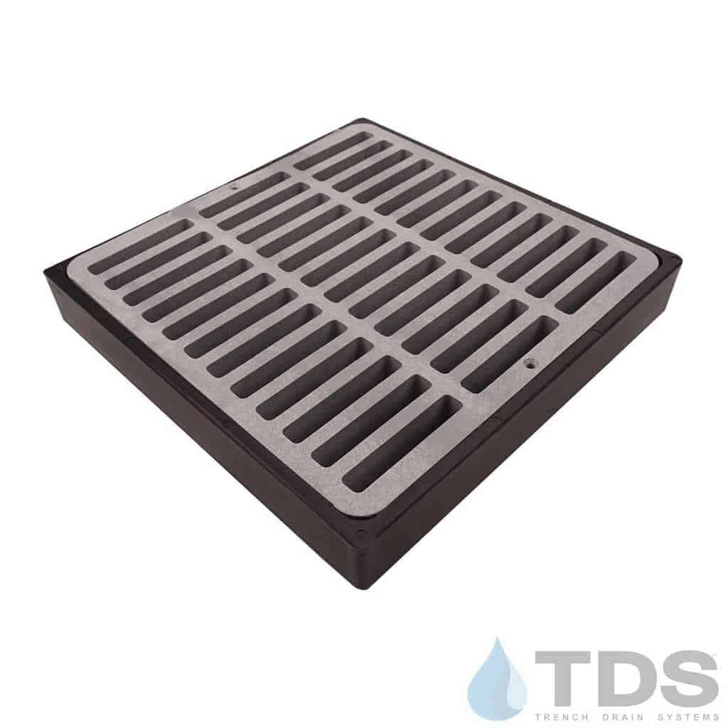 NDS-lowProfile-catch-basin-grey-slotted-grate-TDSdrains