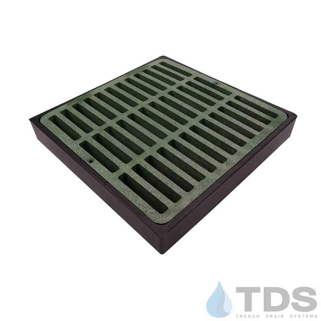 NDS-lowProfile-catch-basin-grn-slotted-grate-TDSdrains