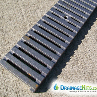 Regular Joe pattern cast iron 5inch grate - raw