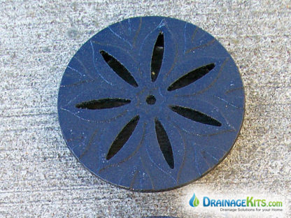 4 inch round Anise grate