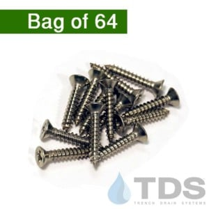 NDS529 stainless screws mini channel