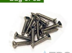 Stainless Screws for Mini Channel Slotted Grates – 32