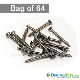 NDS846H stainless steel screws for NDS mini channel decorative grates