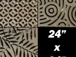 Decorative 24″ x 24″ Cast Iron Grate