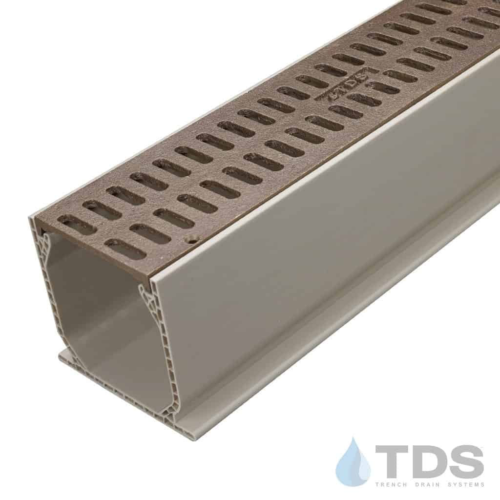 Bronze Slotted Grate with Sand Mini Channel MCKS-TDS560-TDSdrains