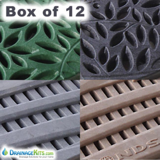 NDS Spee-D channel replacement decorative grates - box of 12