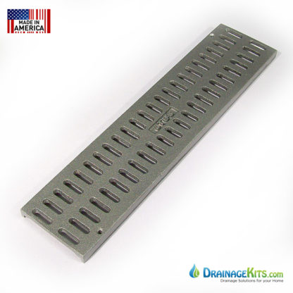Aluminum slotted grates 3inch for NDS Mini Channel