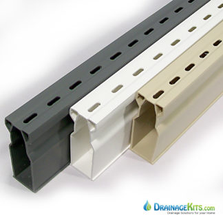 NDS Micro Channel Drainage Kits available in 3 colors