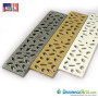 Aluminum Grates - Rain Drop pattern powdercoated