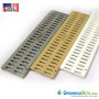 TDS slotted powdercoated grates