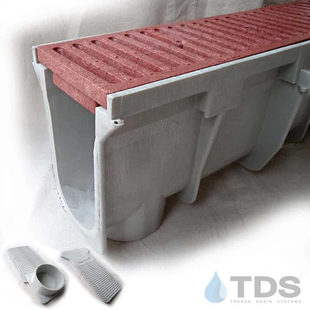 NDS-DuraSlope-kit-plastic-grate-red1 hpde channel