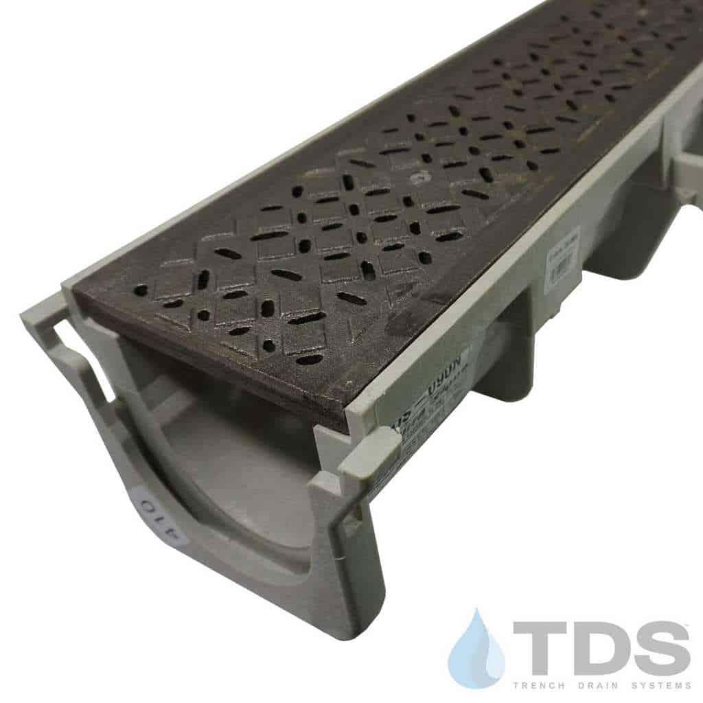 NDS-Dura-XX-602K-TDSdrains cast iron diamond grate HPDE channel NDS