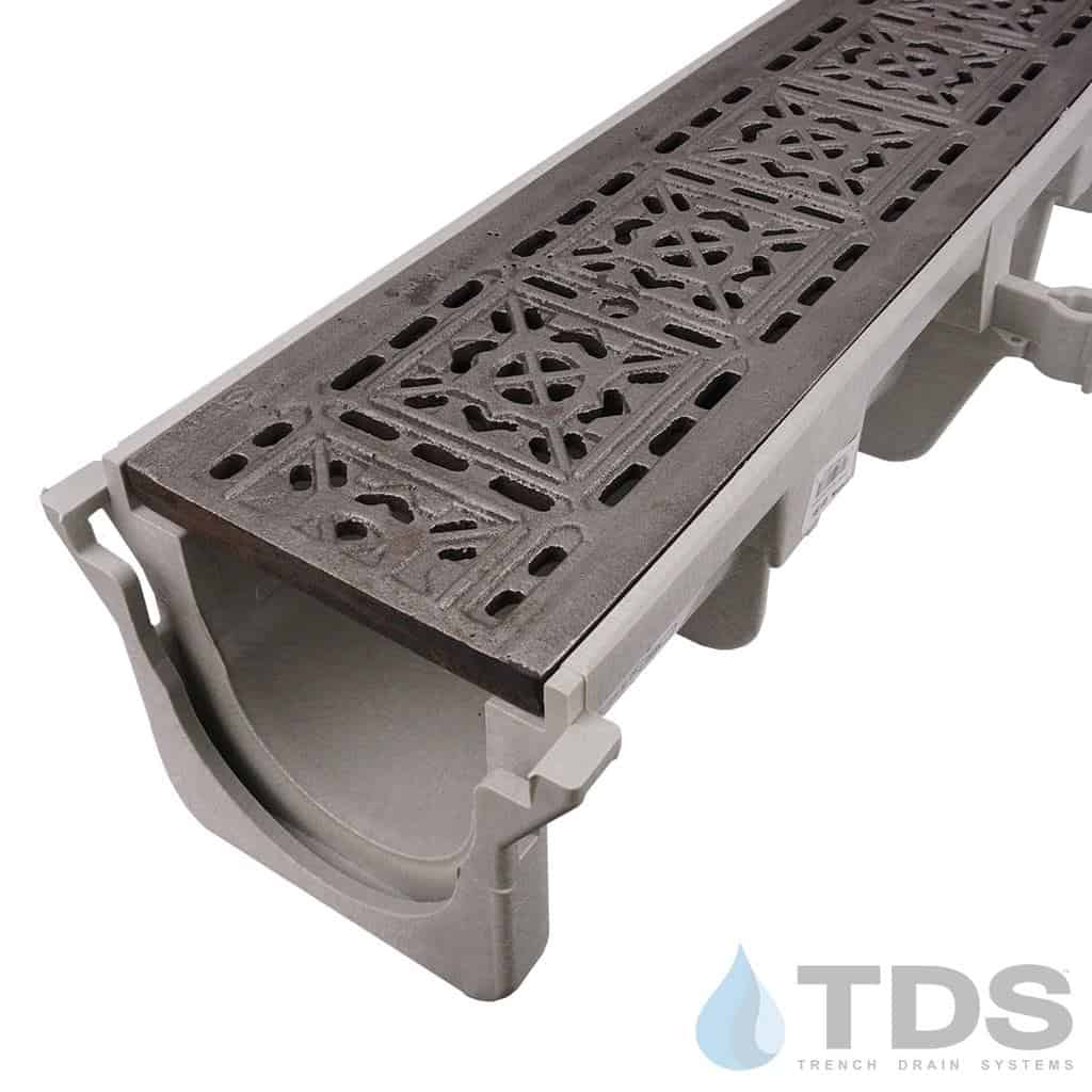 NDS-Dura-XX-603-TDSdrains cast iron tile grate hpde channel nds
