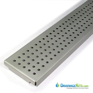 Stainless steel perforated grate for NDS Spee-D channel