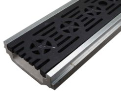 POLYCAST® 500 Drainage Kit w/Deco Ductile Iron Grate – The Patriot