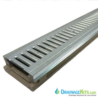POLY500-SS-647-DK Stainless Steel Slotted Grate Stainless steel edge