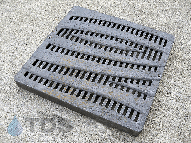 NDS1224CI-Cast-Iron-Wave-Raw-Catch-Basin-Grate