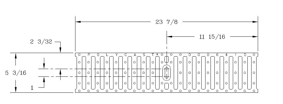 DG0641D-Ductile-Iron-Slotted-Grate-Polycast