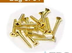 Brass Screws for Mini Channel Bronze Grates (64)
