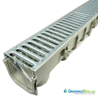 NDS Pro Series 5 - 864GMTL - w/galvanized slotted grate