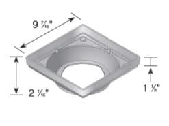 Low Profile Catch Basin 9″ x 9″
